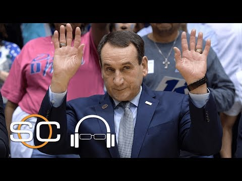 Coach K jokes about Bilas at Duke | SC with SVP | ESPN