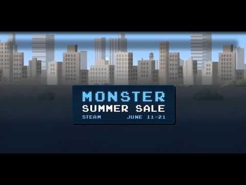 Steam Monster Summer Sale - Monster Summer Game Background Music
