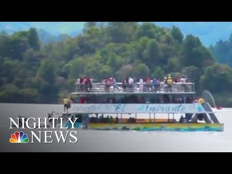 Survival Stories From Deadly Ferry Incident In Colombia | NBC Nightly News