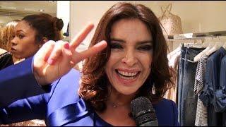 Francesca Rettondini alla finale dell'Isola  tifa per Valerio Scanu
