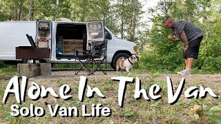 """My Birthday Mega Vlog"" Natures Best Van Life Shower, Camping Out, National Park Drive"