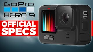 GoPro Hero 9 Black Official Specs - HUGE CHANGES