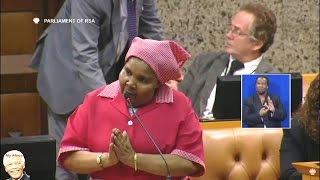 VERY FUNNY - EFF MP Khahula Fooled Parliament Chair With Rule 56
