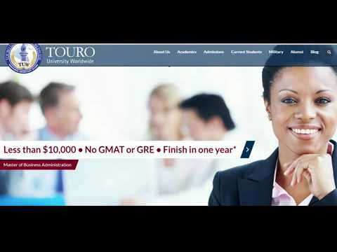 TOURO University Worldwide Graduate Student Consumer Information