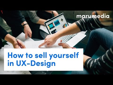 How to sell yourself in UX-Design