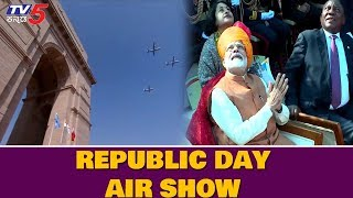 Spectacular Air Show by Indian AirForce at 70th Republic Day Parade 2019 | TV5 Kannada