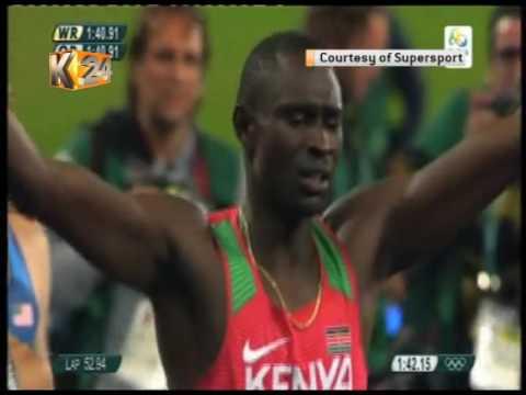 Rudisha wins Kenya's 2nd gold in 800m