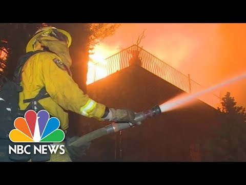 WATCH: Video Shows Camp Fire Burning Through Paradise, California | NBC News