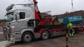 Scania R560 8x2 \8/ Sound With Fassi F950 Crane