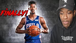 JIMMY BUTLER FAN REACTS TO HIM BEING TRADED