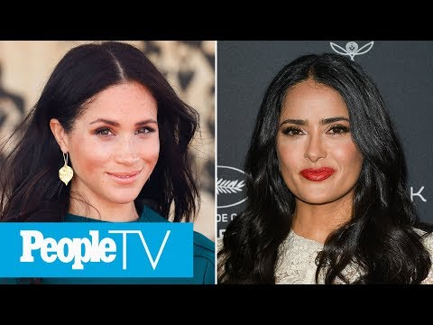 Salma Hayek On Her Secret Call With Meghan Markle & Why She Couldn't Tell Her Husband | PeopleTV