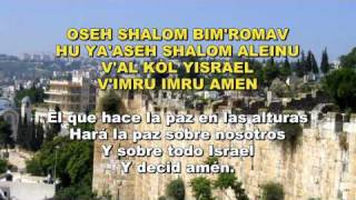 Oseh shalom - The Gevatron - Hebreo / Español
