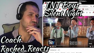 Vocal Coach Reaction + Analysis - TNT Boys - Silent Night