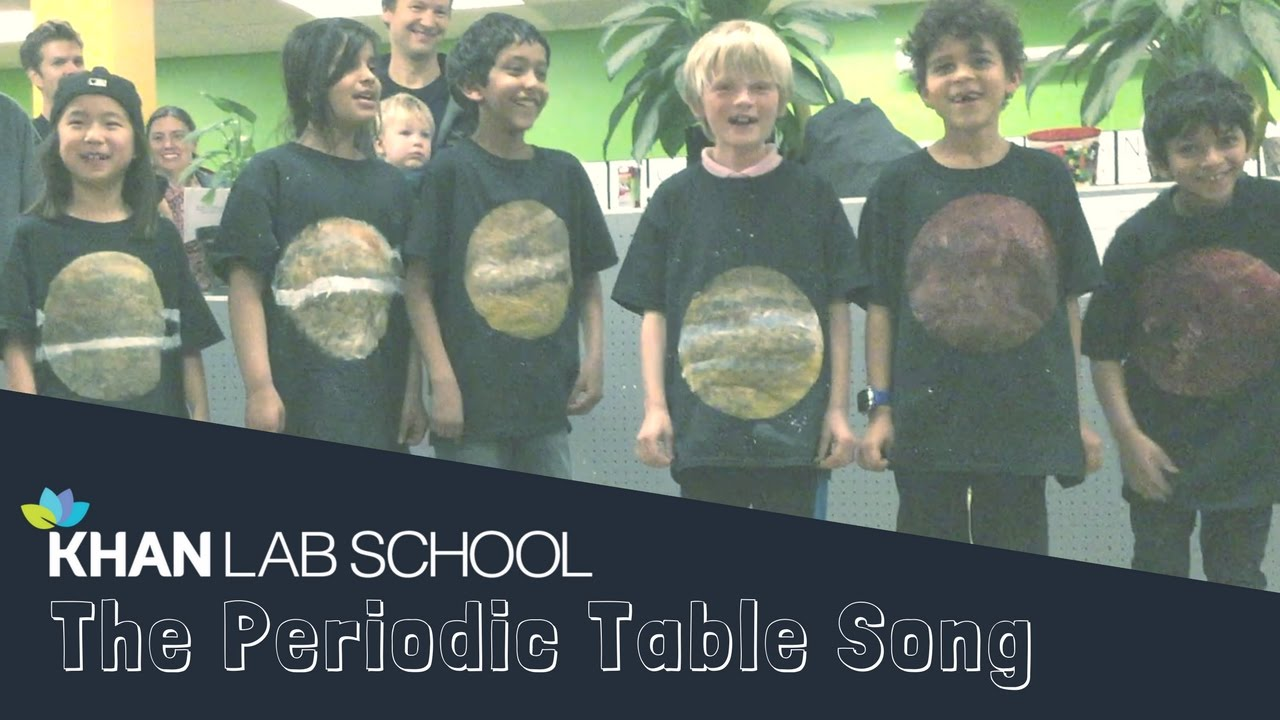 Awesome kids sing the periodic table song youtube awesome kids sing the periodic table song gamestrikefo Image collections
