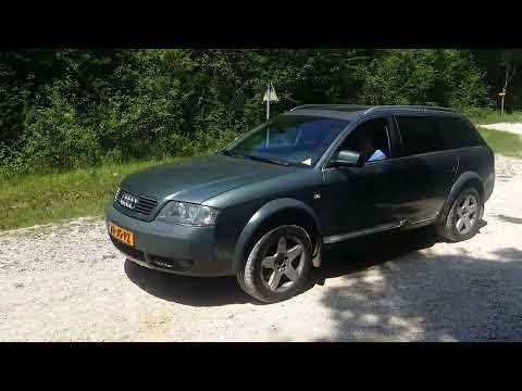 Audi A6 Allroad C5 Quattro B4 in the France hills