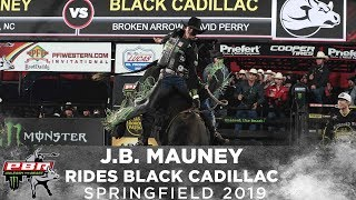 J.B. Mauney Rides Black Cadillac in Round 3 of Springfield | 2019