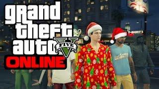 GTA 5 ONLINE (PS4) | Christmas Update | SWEET HOME