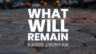 What Will Remain - Poem - October 6, 2020