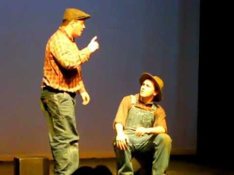 """Of Mice and Men"" - Act 7 The Woodhall School 02/24/13"