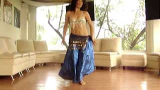 Belly Dance Ahura Mazda improvisación