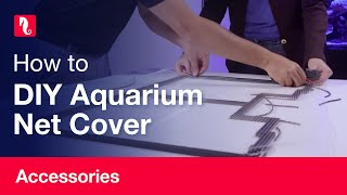 How to Build a Red Sea DIY Aquarium Net Cover (English)