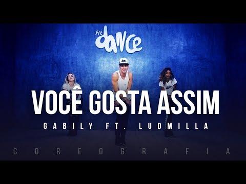 Você Gosta Assim - Gabily ft. Ludmilla (Coreografia) FitDance TV