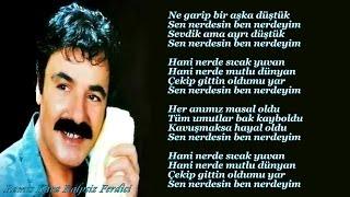 Ferdi Tayfur - Sen Nerdesin Ben Nerdeyim (Altyapı & Karaoke)