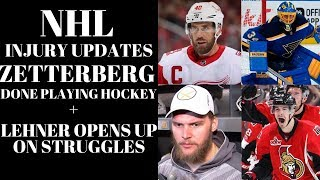 NHL Training Camp 2018 News + Lehner Article