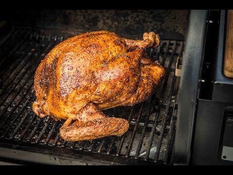 Roasted Honey Bourbon Glazed Turkey   Traeger Wood Pellet Grills