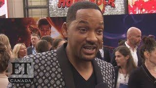 Will Smith Reacts to 'Genie' Casting Backlash