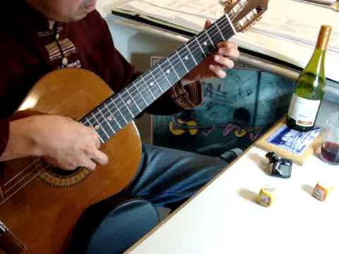 Tuổi Đá Buồn, Trịnh Công Sơn. Trần Văn Phú - Classical Guitar Transcription