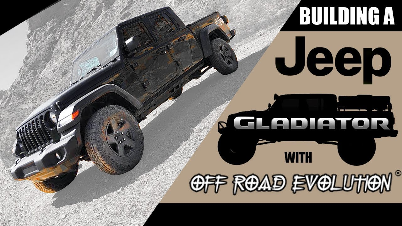 Jeep Information And Evolution Offroaders Com >> World S First Modified Jeep Gladiator By Off Road Evolution Part 1 Of 2