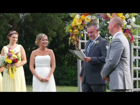 Shane and Jenny Cameron Wedding Ceremony