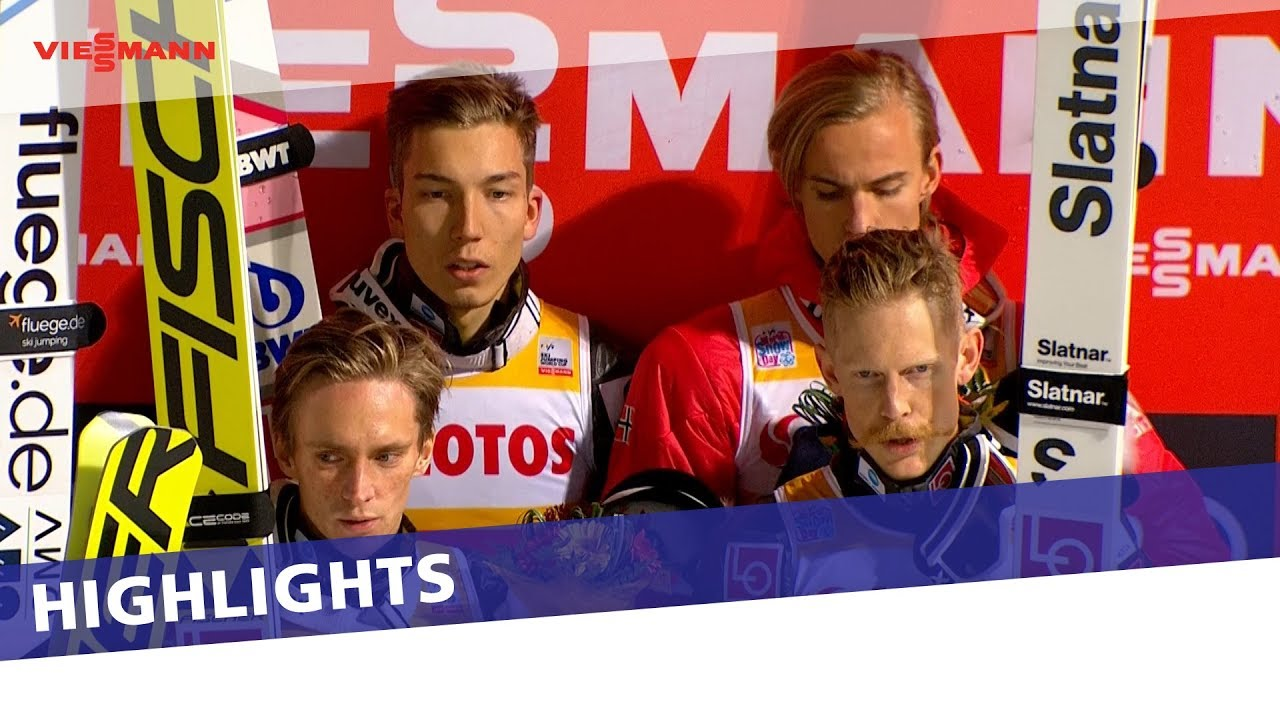 Highlights Norway Starts Well In The Team Competition In Wisla Fis Ski Jumping Youtube