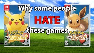 Why Some People HATE 'Let's Go Pikachu/Eevee'