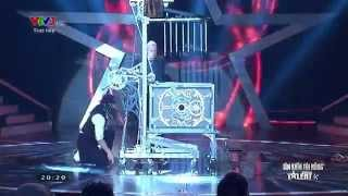 Vietnam's Got Talent: Ảo thuật gia hàng đầu thế giới Paul Cosentino - Màn 1 [FULL HD]