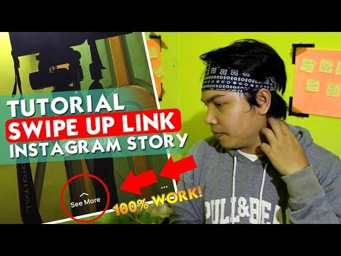 Tutorial Cara Membuat SWIPE UP LINK di INSTAGRAM STORY