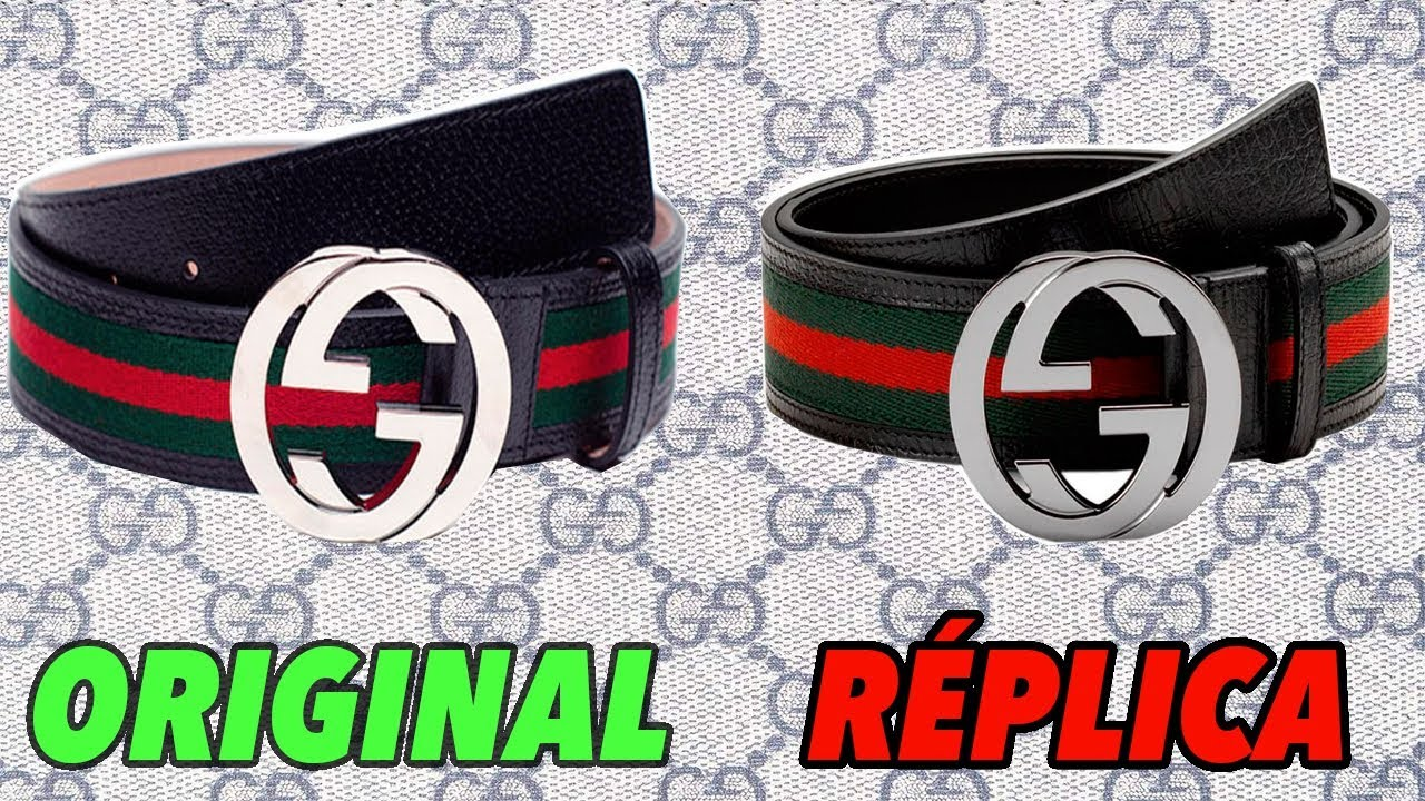 01b7bd3f5 Cinturón Gucci Original Vs Réplica - YouTube