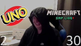 CallMeCarson VODS: UNO (Part Two) / Minecraft SMP Live (Part Thirty)