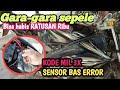 Motor Vixion old mil kedip 3X #Sensor BAS bermasalah #mesin mati