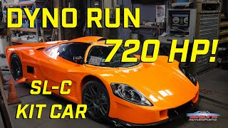 SL-C Kit Car Dyno Run    *720HP* SUPERCHARGED LS3