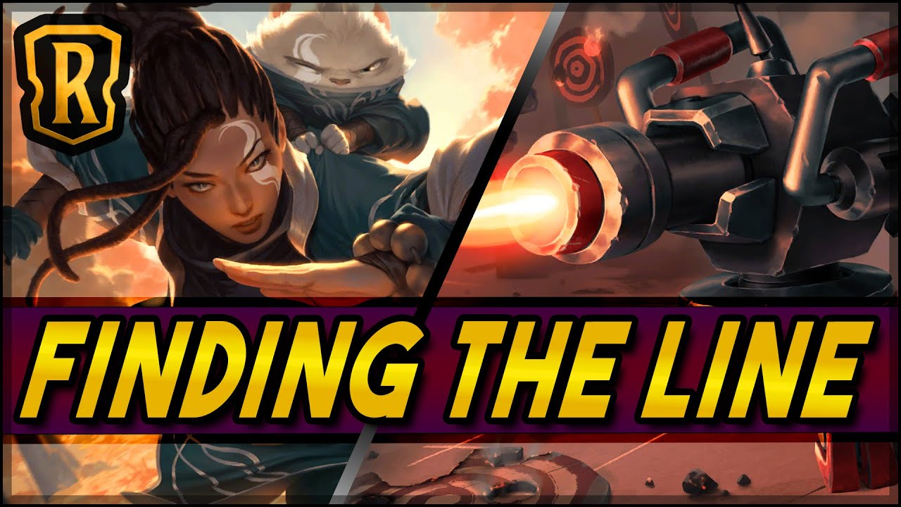 Finding the Line (Heimer Aggro) | Season of Fortune | LoR Game | Legends of Runeterra