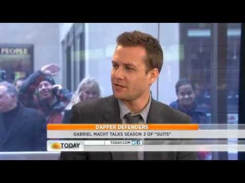 Gabriel Macht on the Today