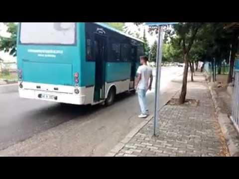 Belediye Otobusu Durdurma Sakasi