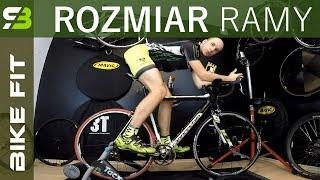 Jak dobrać rozmiar ramy roweru górskiego i szosowego. Bike Sizing / Bike Fitting