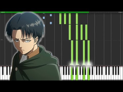 "【FULL】[Attack On Titan Season 2 OP] 進撃の巨人 - ""Shinzou Wo Sasageyo!"" (Piano Synthesia)"