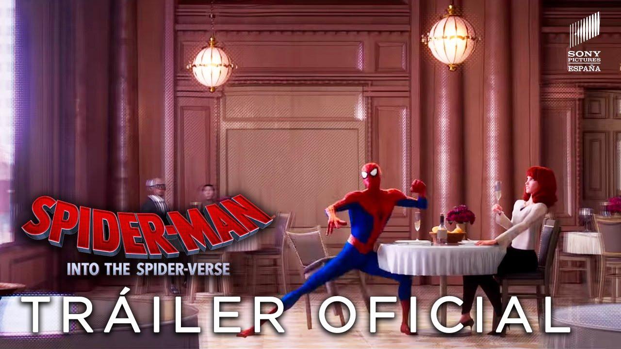 Spider Man Un Nuevo Universo Trailer Oficial 2 Hd En Espanol Ya