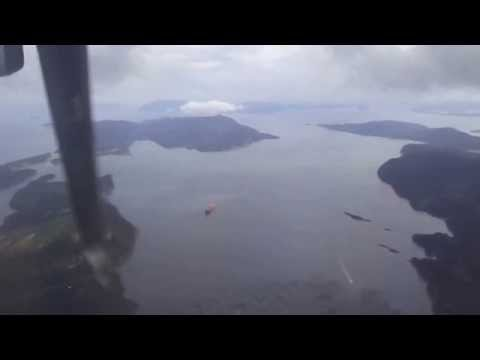 Vancouver YVR-to-Victoria BC YYJ prop-jet flight: takeoff 26L & landing 21 2013-09-22