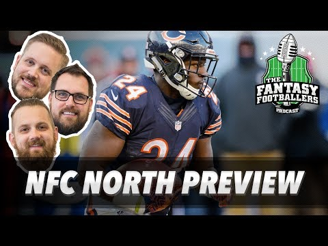 Fantasy Football 2017 - The Fantasy Court + NFC North Breakdown - Ep. #399
