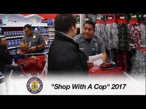 OKC GOOD Community Story | Shop with a Cop 2017 | OKC Police Athletic League